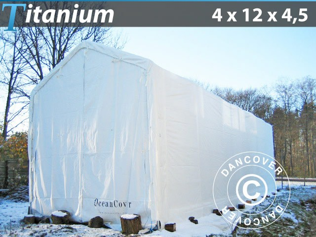 Tente d'hivernage Titanium 4 x 12 x 4,5 m